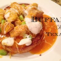 Buffalo Chicken Texas Toast