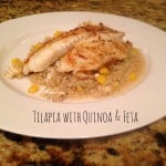 Tilapia with Quinoa & Feta
