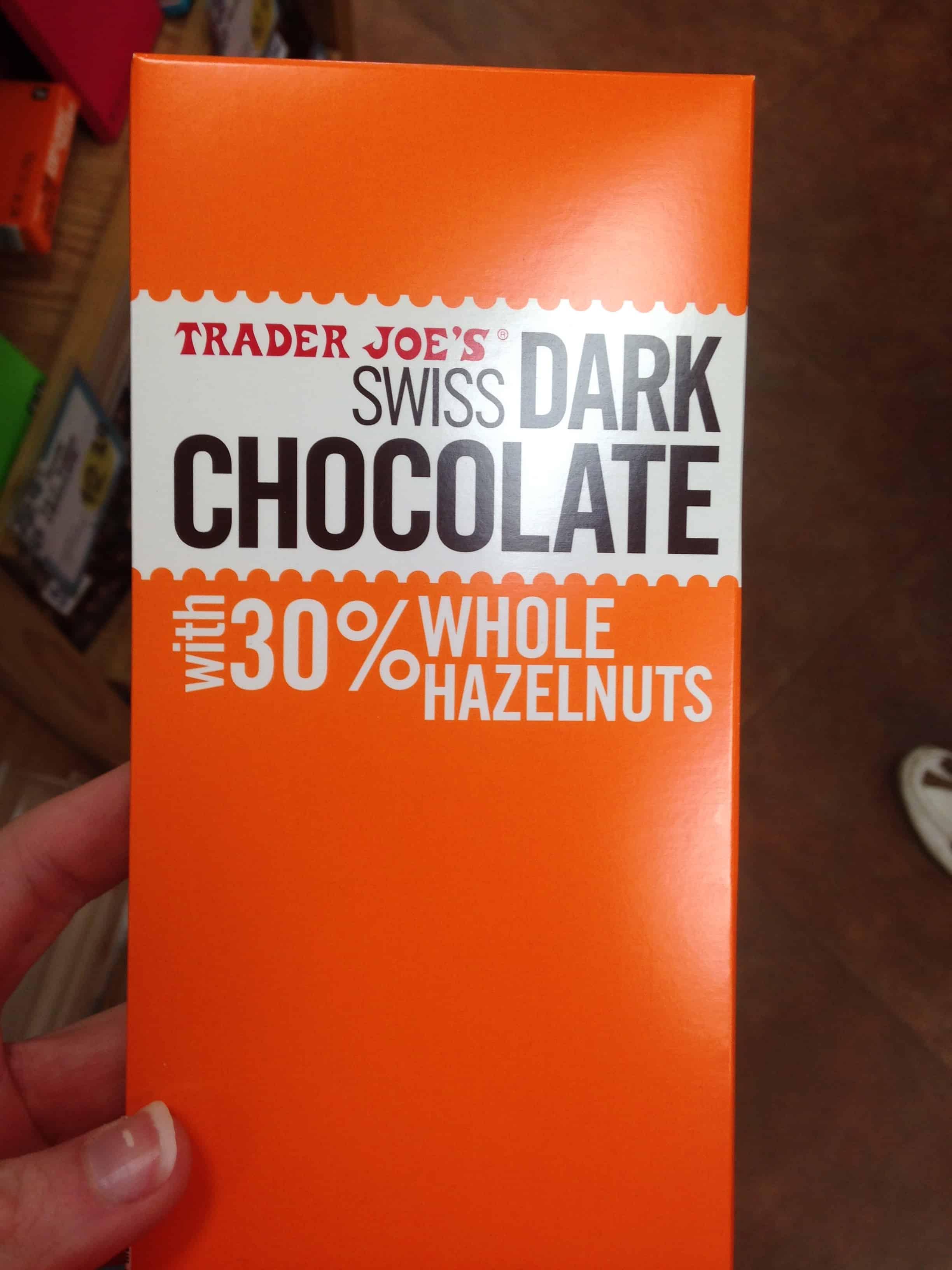Swiss Dark Chocolate Trader Joes