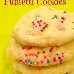 Cake Mix Funfetti Cookies