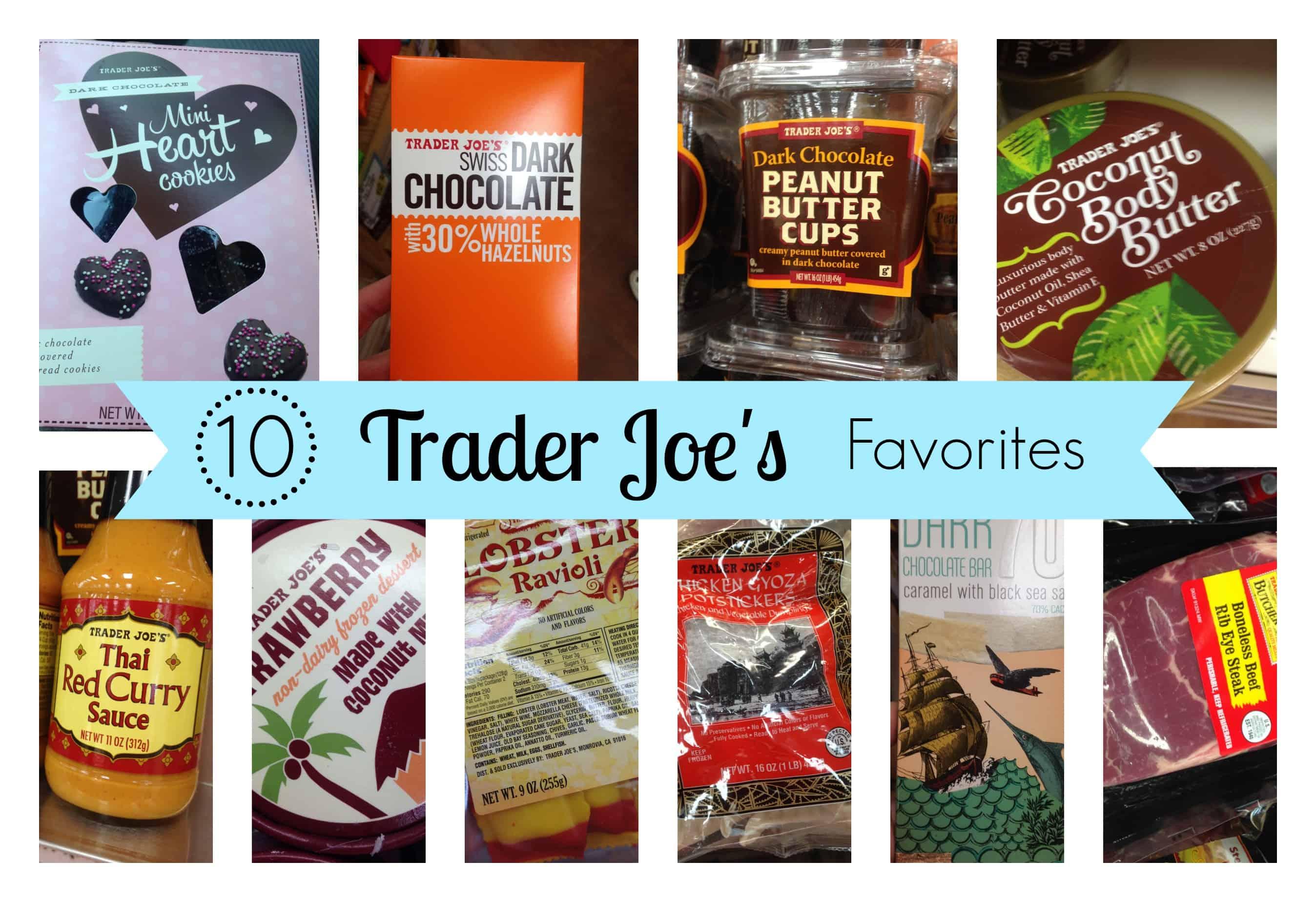 10 Trader Joe\'s Favorites