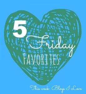 Friday 5 Blogs