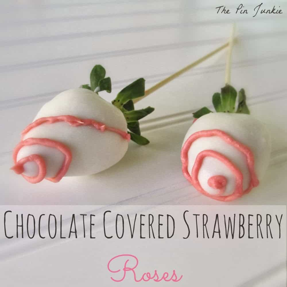 White Chocolate Covered Strawberries Valentines Day