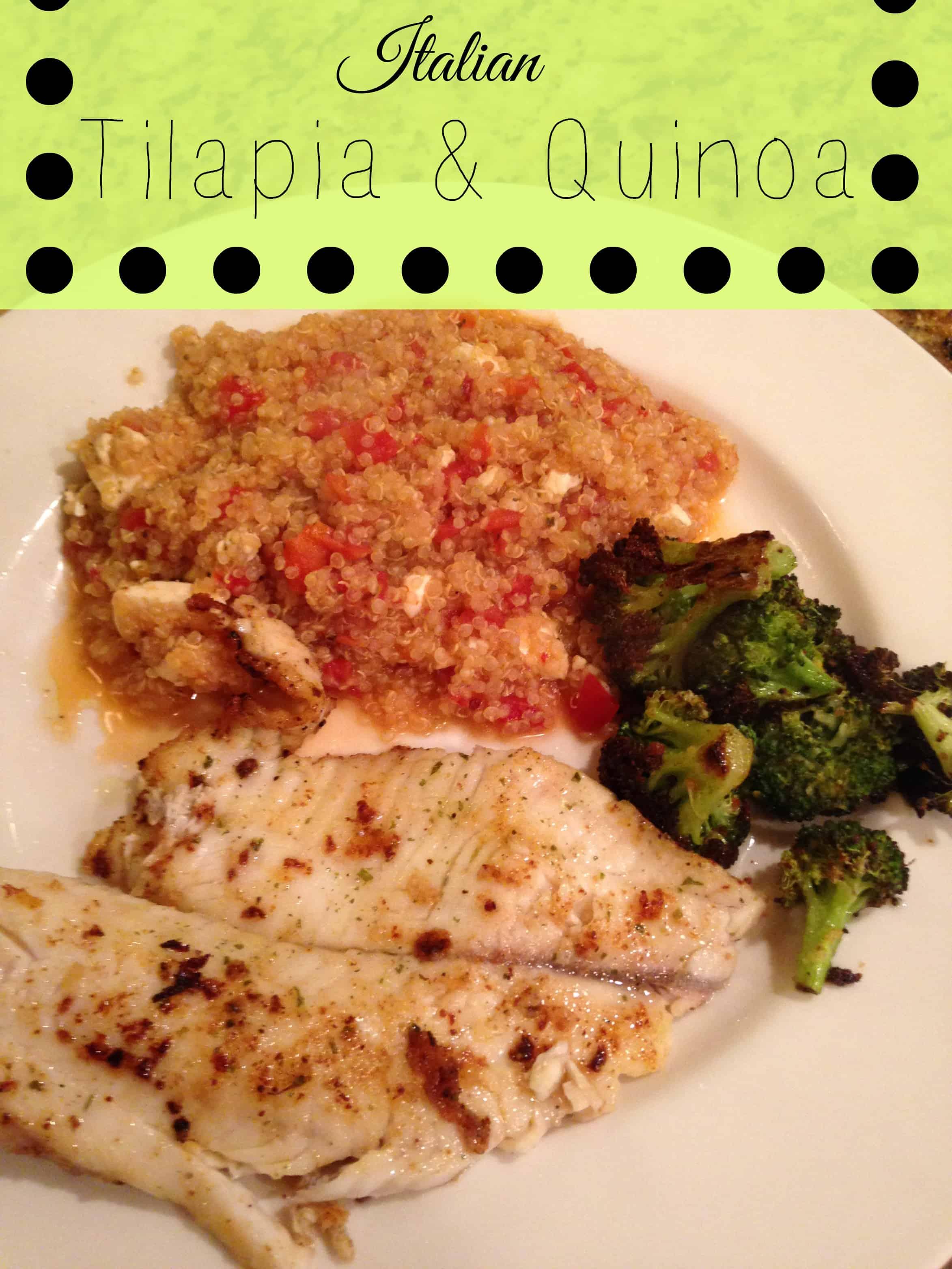 Italian tilapia and quinoa forumfinder Images