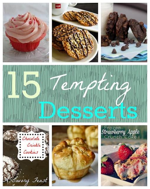 15 Tempting Desserts
