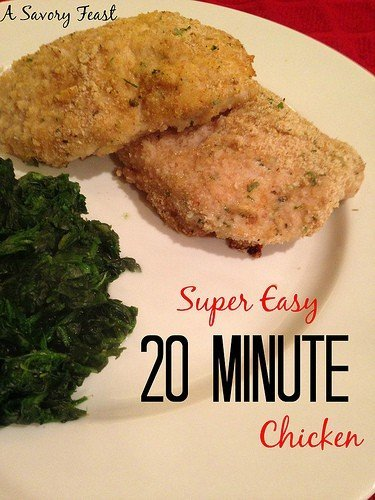 Easy 20 Minute Chicken