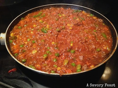 Shepherd's Pie Filling