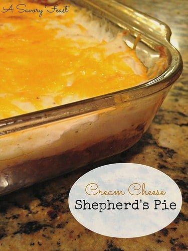 Cream Cheese Shepherd's Pie