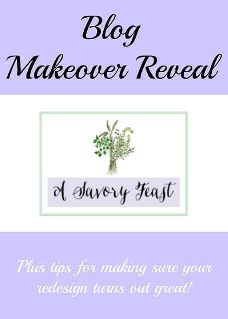 Blog Makeover Reveal