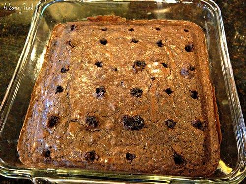 Pudding Poke Brownie