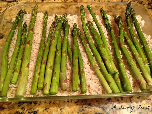 Chicken and Asparagus Casserole Dinner