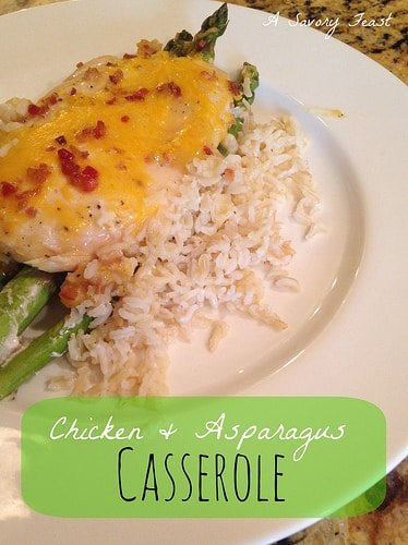 Chicken and Asparagus Casserole Recipe