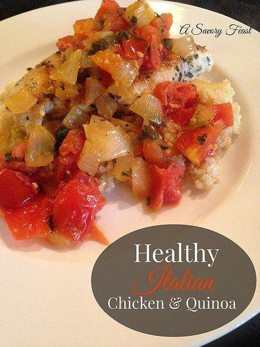 Healthy Italian Chicken and Quinoa