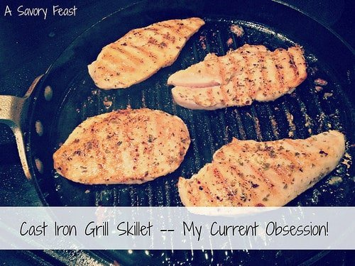 Cast Iron Grill Skillet