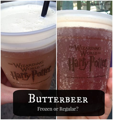 Butterbeer Frozen or Regular?