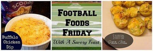 Football Foods Friday 3