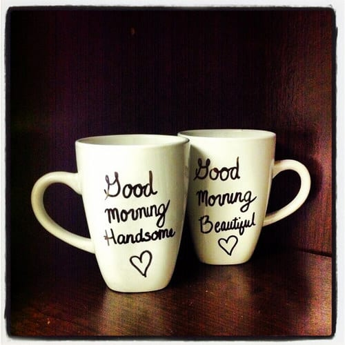 Good Morning Couples Mugs