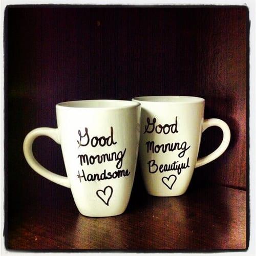 Good Morning Couples Mugs
