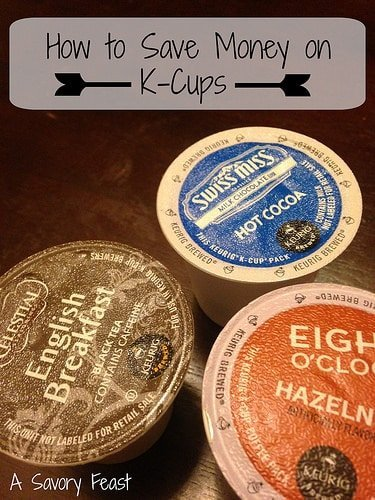 How to Save Money on K-Cups