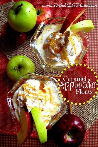 Caramel-Apple-Cider-Floats