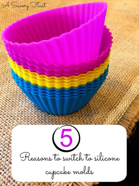 5 Reasons to Switch to Silicone Cupcake Molds