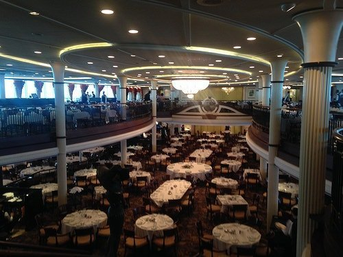 Enchantment of the Seas Main Dining Hall