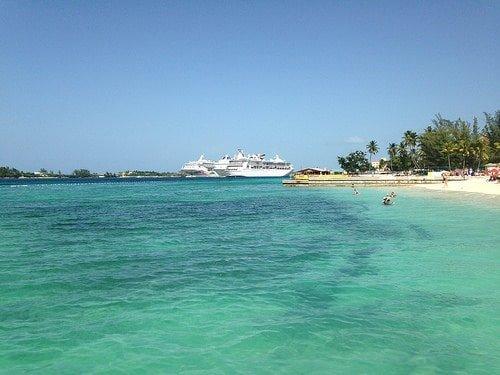 Beach in Nassau, Bahamas