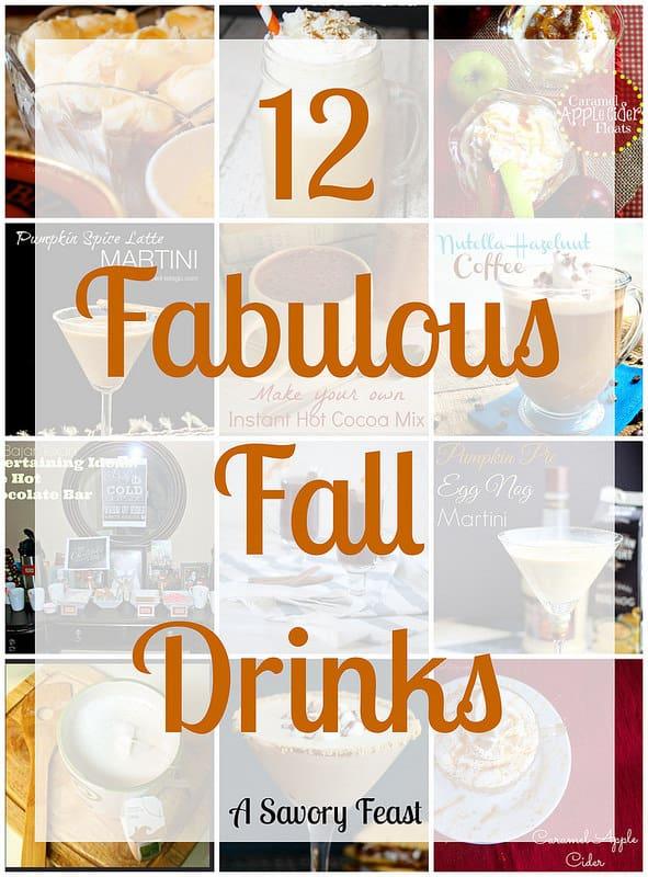 12 Fabulous Fall Drinks