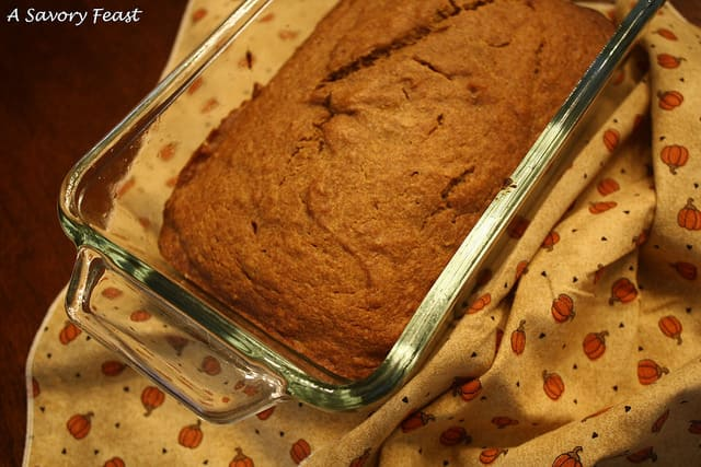 Better-for-you Pumpkin Bread Recipe