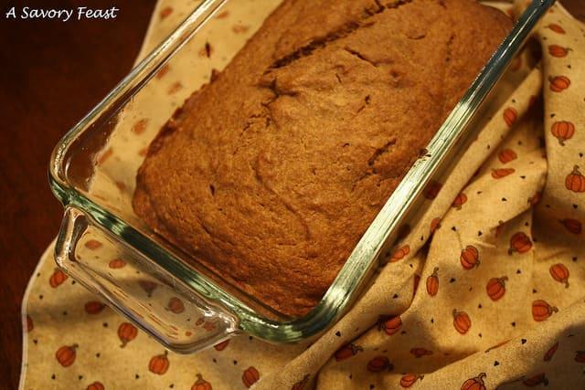 Better-for-you Pumpkin Bread Recipe