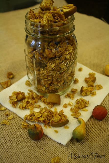 Pumpkin Apple Granola Recipe