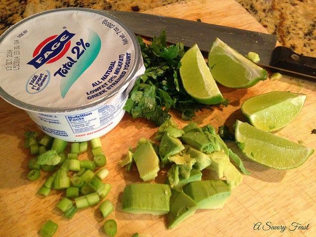 Avocado Ranch Ingredients