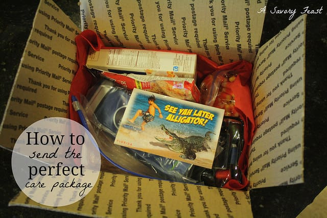 How to Send the Perfect Care Package