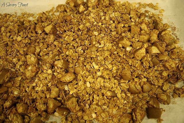 Apple Pumpkin Granola