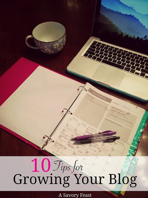 10 tips for growing your blog