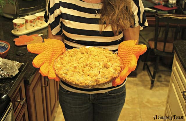 Silicone Cooking Gloves Picture