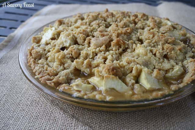 Caramel Dutch Apple Pie