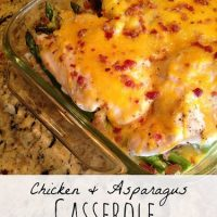 Chicken & Asparagus Casserole