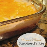 Cream Cheese Shepherd's Pie