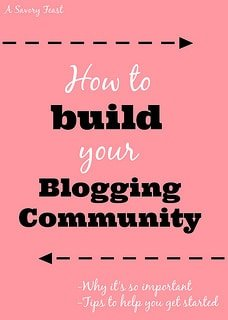 How to build your blogging community