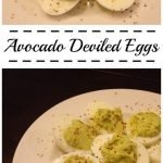 Avocado Deviled Eggs {Football Foods Friday}