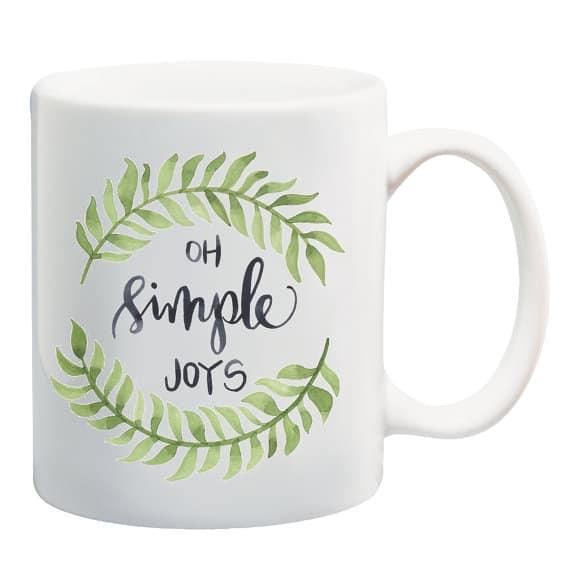 Oh Simple Joys mug