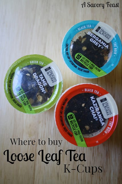 Where to buy loose leaf tea K-cups