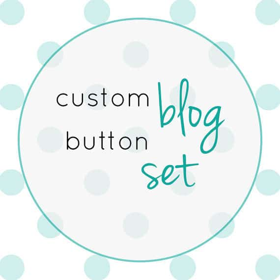 Custom Blog Button Set from MW Stationery