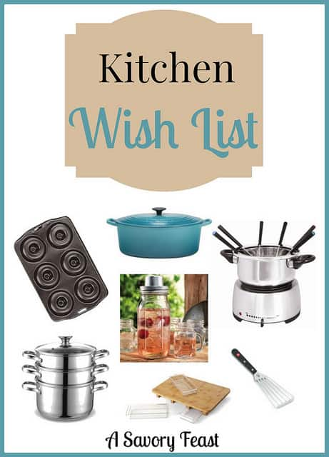 Kitchen Wish List