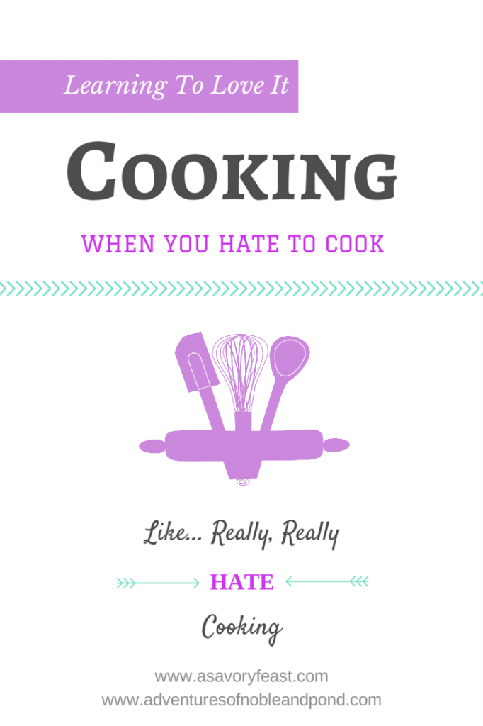 Learning To Love Cooking Graphic
