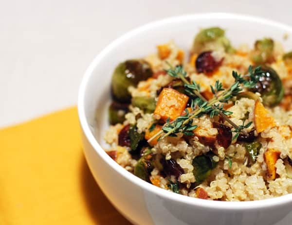 Fall Quinoa Salad // Twin Stripe