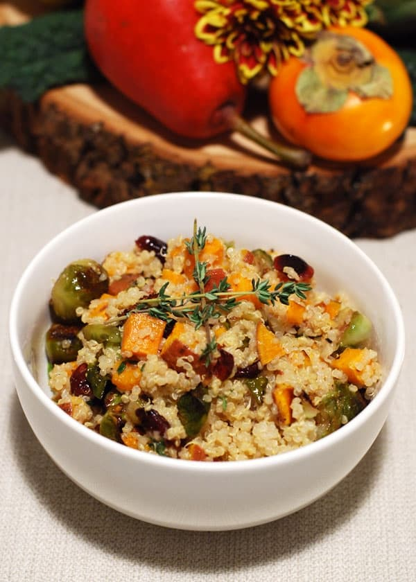 Fall Quinoa Salad // Twin Stripe