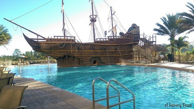 LBV Pool and Pirate Ship
