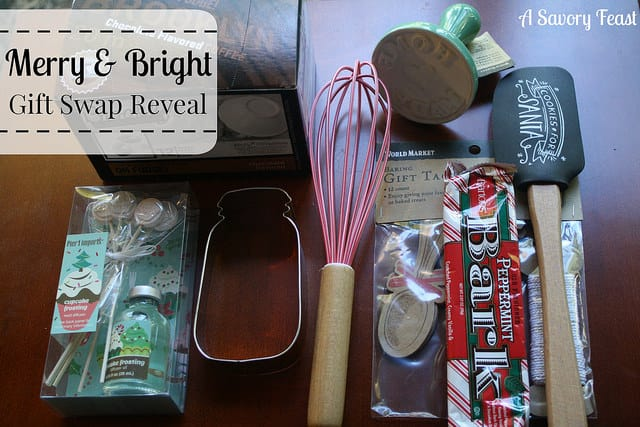Merry & Bright Gift Swap Reveal